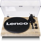 Lenco LBT-188 - Platenspeler met Bluetooth en USB aansluiting - vinyl naar digitaal - Hout