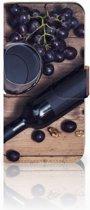 HTC One Mini 2 Uniek Boekhoesje Wijn