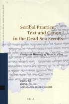 Scribal Practice, Text and Canon in the Dead Sea Scrolls