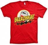 Fun t-shirt Beerzinga heren L