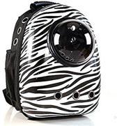 Huisdier Rugtas Astronautstijl Zebra