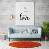 Do what you love canvas text