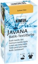 Javana Zonnebloem Gele Batik Textile Dye - 70ml tie dye verf
