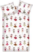 Beddinghouse Cute Princesses - Dekbedovertrek - Pink - Ledikant (100x140 cm + 1 sloop)