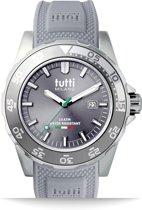Tutti Milano TM900GY- Horloge -  42.5 mm - Grijs - Collectie Corallo