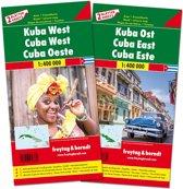 F&B Cuba West en Oost 2-kaartenset