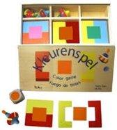 Kleurenspel hout Charl's Toys