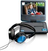 """Lenco DVP-710 - 7"""" Portable DVD-speler - Blauw/Zwart"""
