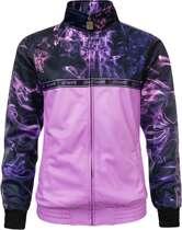 100% Hardcore Lady Training Jacket Fog Pink maat XL