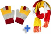 Oeteldonk Sjaal en Handschoenen VOORDEELPAKKET voor carnaval Den Bosch