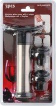 Vacuümpomp Vacuum Sealer voor wijnflessen -Inclusief  2 wijnstoppers