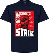 Harry Kane's Strike T-Shirt - Navy - L