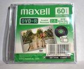 Maxell DVD-R VCAM60 1.4GB 1 stuk