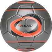 Avento Mini Voetbal Elipse Zilver/oranje/antraciet Maat 2