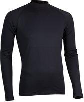 Avento Thermoshirt Base Layer Lange Mouw Heren Zwart Maat S