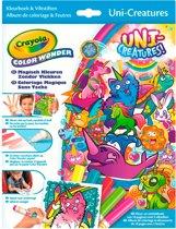 Crayola Color Wonder -Box Eenhoorns Kleurboek inclusief 5 Stiften