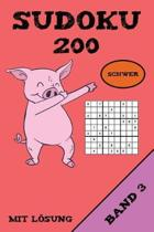 Sudoku 200 Schwer Mit L sung Band 3