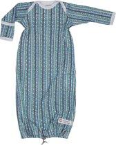 Lodger Baby slaapzak - Hopper Newborn Stripe Xandu - Groen - 0-4 mnd