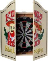 Longfield Dartkabinet - Inclusief Dartbord En Dartpijlen