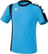 Erima Zamora - Voetbalshirt - Heren - Maat S - Blauw/Zwart/Wit