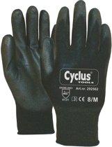 Cyclus Werkhandschoenen Zwart Handomtrek 8