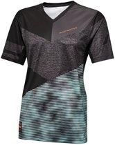 Protective P-MX-60 Fietsshirt korte mouwen Heren grijs/zwart Maat L