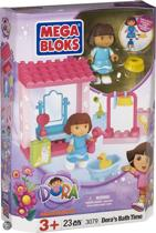 Mega Bloks Dora Gaat in Bad