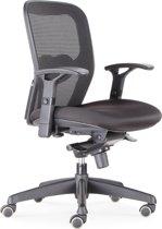 BenS 803-Bsc-3 Ergonomische bureaustoel - Robuste bureaustoel incl opties - Zwart