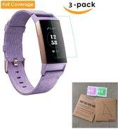 3x Smartwatchscreenprotector Voor Fitbit Charge 3