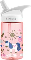 CamelBak Eddy Kids - drinkfles - 400 ml - Roze - Unicorn Party