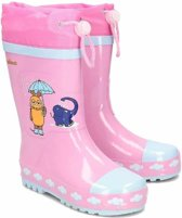 Palyshoes Rubber Boots Mouse & Elephant lightpink 22/23