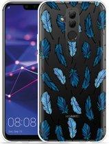 Huawei Mate 20 Lite Hoesje Feathers