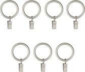 Umbra gordijnroede ring - set van 7 Clip Ring - Nikkel