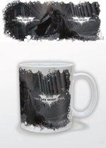 Dark Knight Rises - White Logo