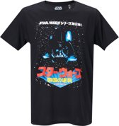 Star-Wars-T-shirt-met-korte-mouw-zwart-maat-M