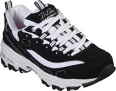 Skechers D'Lites- Biggest Fan Sneakers Meisjes - Black White - Maat 36