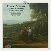 Stamitz: Missa Solemnis, etc / Helbich, Frimmer, et al
