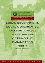 Local Government, Local Governance and Sustainable Development