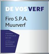 FIRO S.P.A. MUURVERF WIT 5 LT