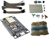 IoT starter kit: NodeMcu ESP8266 WiFi, breadboard, LEDs,... Arduino compatible