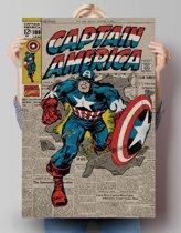 REINDERS Captain America - Poster - 61x91,5cm