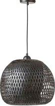 Mica Decorations boris hanglamp zwart maat: 33 x 43cm