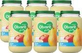 Olvarit 8 maanden - peer appel yoghurt - 6x200g