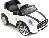 Mini Cooper kinderauto wit
