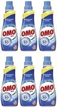 Omo Vloeibaar Klein & Krachtig Wit - MULTIPAK 6 x20 wasbeurten - 700 ml - Wasmiddel