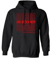 Ok Boomer | Hoodie | Generation Z | Maat Small