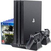 Luxe Multifunctionele Standaard voor Playstation 4 Slim en Pro – Verticale Standaard en Koelventilator