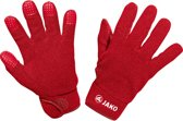 Jako Fleece Handschoen - Thermohandschoenen  - rood - 6