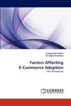 Factors Affecting E-Commerce Adoption