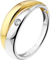 The Jewelry Collection Ring Diamant 0.05ct H Si - Goud